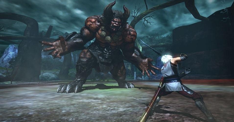"""""""Toukiden"""" (Vita), dos criadores de """"Dynasty Warriors"""", mistura jogabilidade similar a de """"Monster Hunter"""" com mitologia japonesa"""