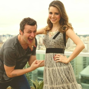 Lucas Limas e Sandy comemoram gravidez da cantora