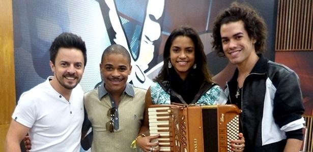 Rubens Daniel, Pedro Lima, Lucy Alves e Sam Alves, finalistas da 2ª temporada do