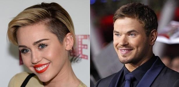 Miley Cyrus e Kellan Lutz foram vistos juntos em boate de Las Vegas, segundo revista