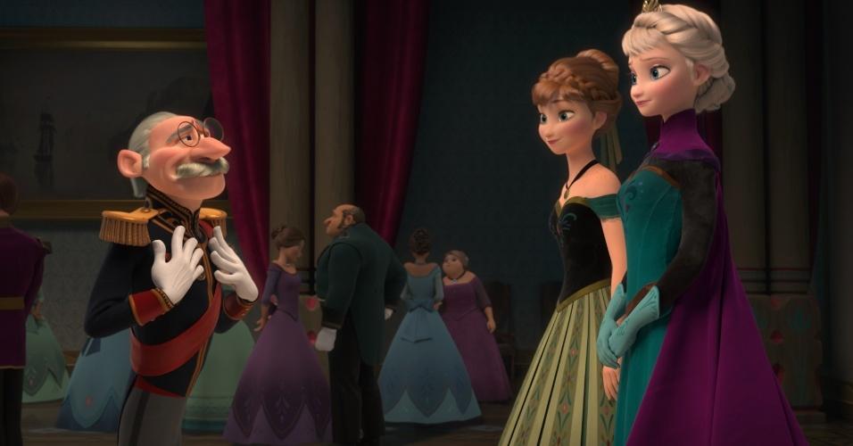 """Cena da animação """"Frozen"""""""