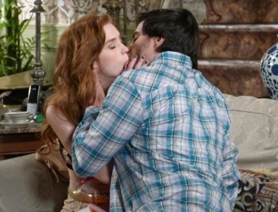 Em &quot;Amor à Vida&quot;, <b>Natasha se</b> declara para <b>Thales e</b> eles <b>se</b> beijam <b>...</b> 2014