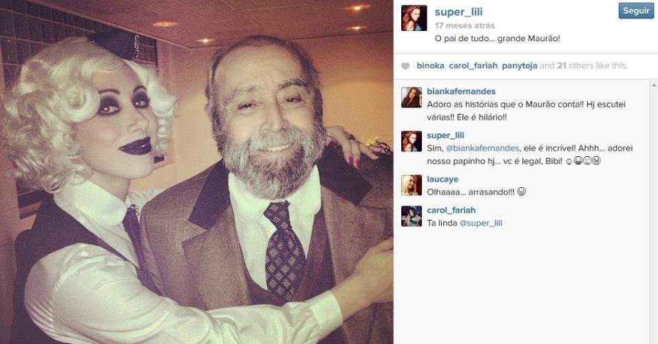 """Aline Moraes Dahlen Ganthz é atriz e usa o nome artístico de Liz Moraes. Ela atuou no remake da novela """"Gabriela"""" como uma das dançarinas do cabaré Bataclã. No seu Instagram, ela compartilhou uma fotos dos bastidores da trama ao lado do ator Mauro Mendonça. A sister também atuou em outras produções da Globo, como """"Cobras e Lagartos"""", """"Pé na Jaca"""" e """"Tempos Modernos"""""""