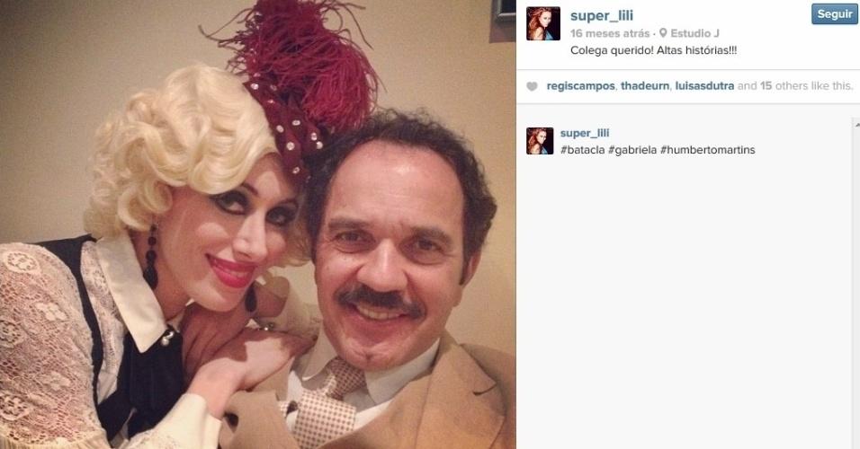 """Aline Moraes Dahlen Ganthz é atriz e usa o nome artístico de Liz Moraes. Ela atuou no remake da novela """"Gabriela"""" como uma das dançarinas do cabaré Bataclã. No seu Instagram, ela compartilhou uma fotos dos bastidores da trama ao lado do ator Humberto Martins. A sister também atuou em outras produções da Globo, como """"Cobras e Lagartos"""", """"Pé na Jaca"""" e """"Tempos Modernos"""""""