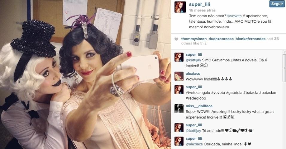 """Aline Moraes Dahlen Ganthz,  do """"BBB14"""", é atriz e usa o nome artístico de Liz Moraes. Ela atuou no remake da novela """"Gabriela"""" como uma das dançarinas do cabaré Bataclã. No seu Instagram, ela compartilhou uma fotos dos bastidores da trama ao lado da cantora Ivete Sangalo. A sister também atuou em outras produções da Globo, como """"Cobras e Lagartos"""", """"Pé na Jaca"""" e """"Tempos Modernos"""""""