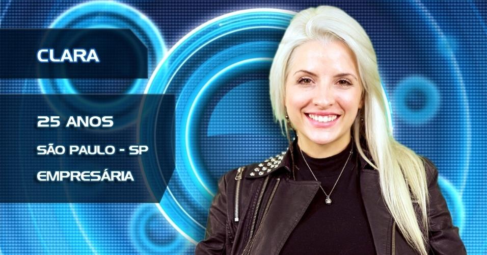 Clara, 25 anos, São Paulo, empresária
