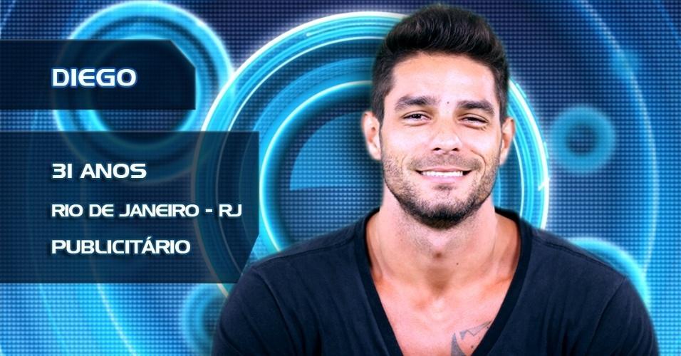 Diego, 31 anos, Rio de Janeiro, publicitário