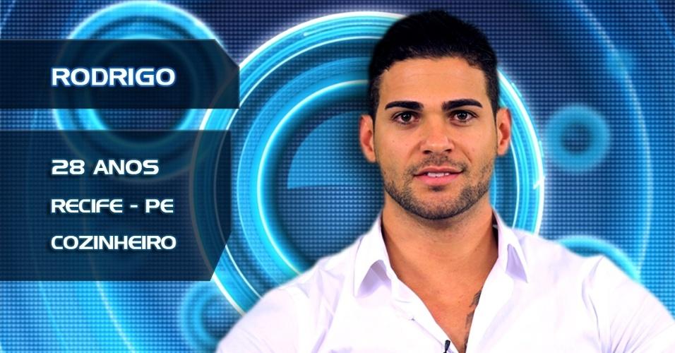 Rodrigo, 28 anos, Recife, cozinheiro