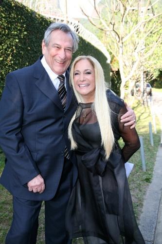 """2007 - Paulo Goulart e Susana Vieira em cena da novela """"Duas Caras"""""""