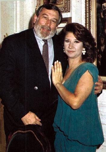 """2010 - Paulo Goulart e Ana Rosa em cena da novela """"Cama de Gato"""""""