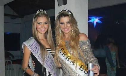 Tatiele Polyana e a amiga Camila Dellantonia