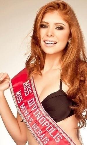 A mineira é modelo e foi eleita miss Divinópolis em  2012