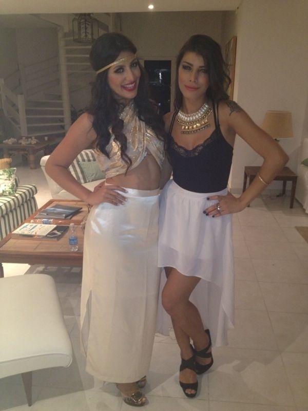 """A sister Franciele Almeida, do """"BBB14"""", é amiga de Mari Silvestre, coleguinha do """"Caldeirão do Huck"""""""
