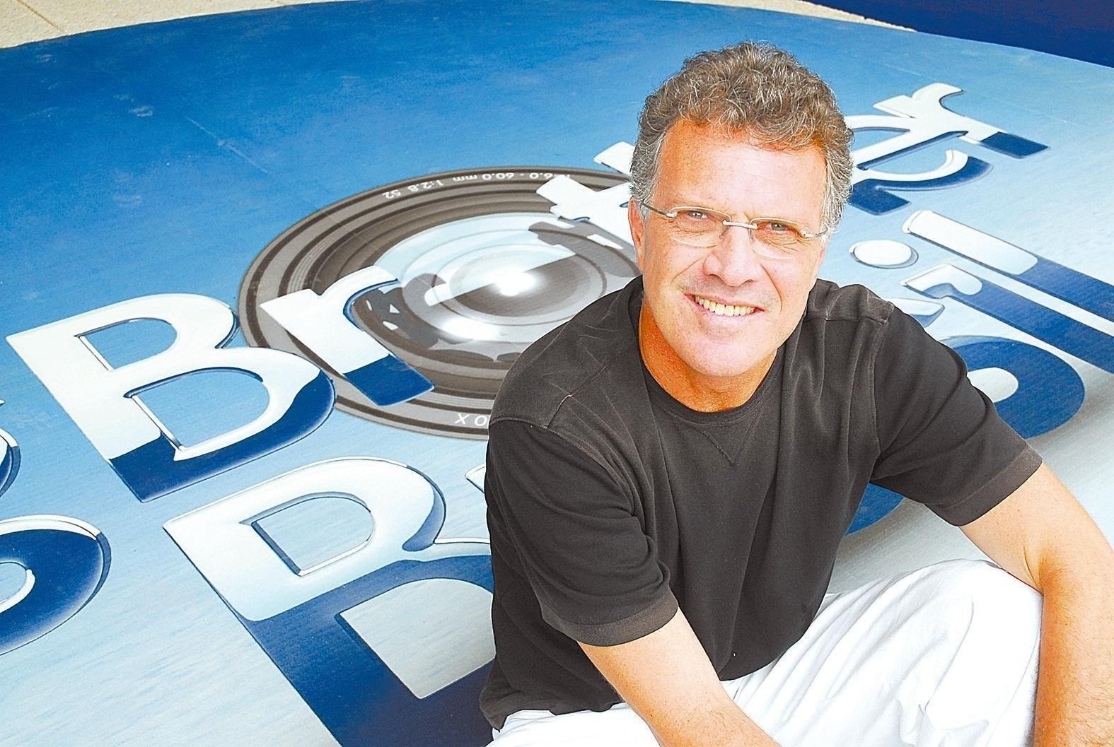 2007 - O jornalista Pedro Bial, apresentador do