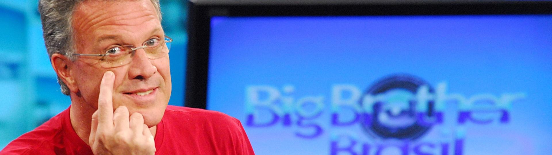 21.jan.2008 - O jornalista Pedro Bial, apresentador do