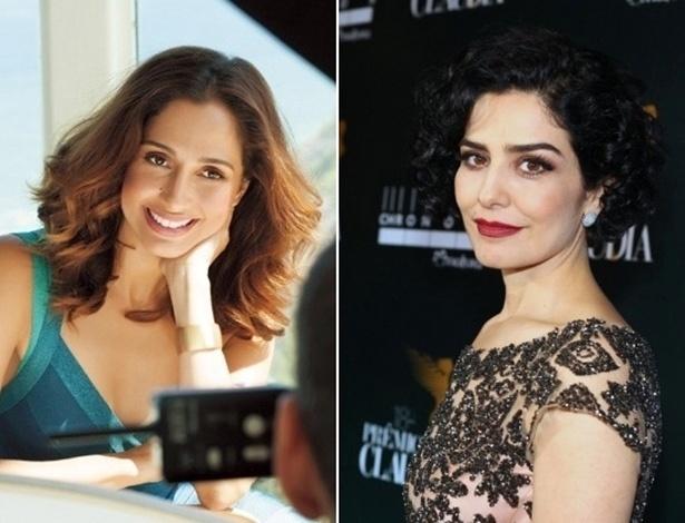 Camila Pitanga e Letícia Sabatella estão na terceira temporada de