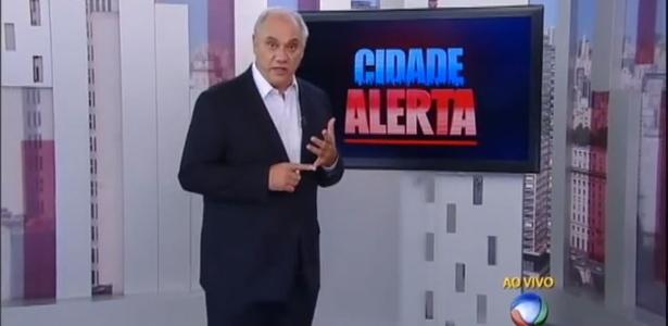 """Marcelo Rezende vai apresentar segunda edição do """"Cidade Alerta"""" às 21h30"""