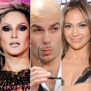 Claudia Leitte, Pitbull e Jennifer Lopez podem cantar a música oficial da Copa 2014