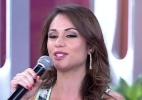 """""""Se soubesse antes, já tinha dado uns beijinhos no Bial"""", diz Maria Melilo"""