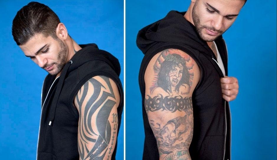 Mais tatuagens do Rodrigo