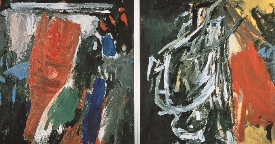 """Obra de Baselitz presente na exposição """"Visões na Coleção Ludwig"""", em cartaz de 25 de janeiro a 21 de abril no CCBB SP"""