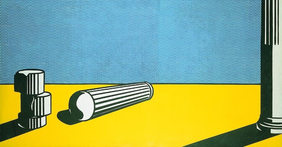 """Obra de Lichtenstein, presente na exposição """"Visões na Coleção Ludwig"""", em cartaz de 25 de janeiro a 21 de abril no CCBB SP."""