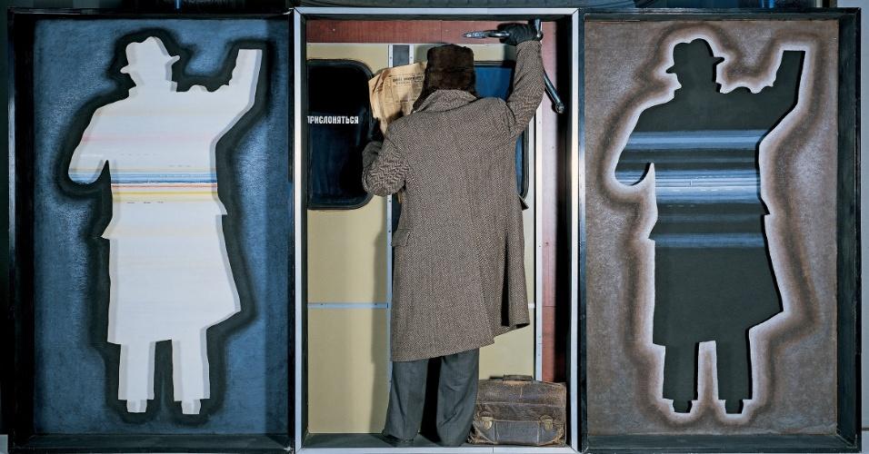 """Obra de Yankilevsky, presente na exposição """"Visões na Coleção Ludwig"""", em cartaz de 25 de janeiro a 21 de abril no CCBB SP."""