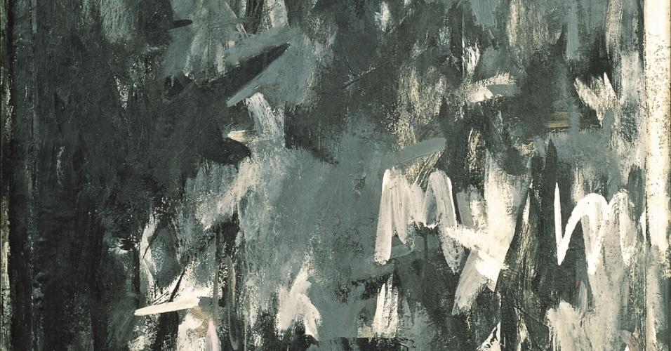 """Obra """"Shade"""", de Jasper Johns, presente na exposição """"Visões na Coleção Ludwig"""", em cartaz de 25 de janeiro a 21 de abril no CCBB SP"""