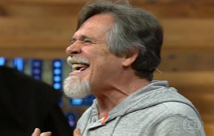 20.janeiro.2014 - José de Abreu relembra risada do Nilo, de