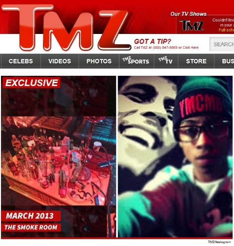 21.jan.2014 - TMZ divulga foto de suposto quarto de drogas de Justin Bieber