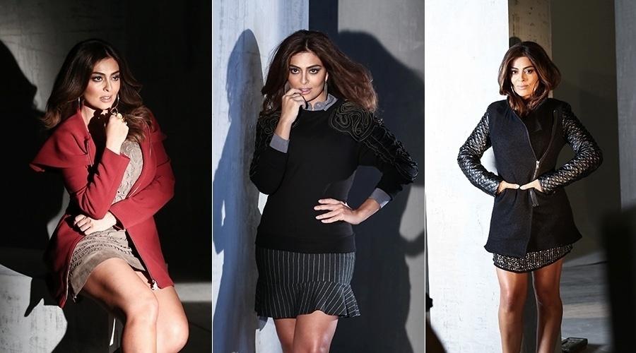 22.jan.2013 - Juliana Paes é a estrela da campanha outono/inverno de um shopping