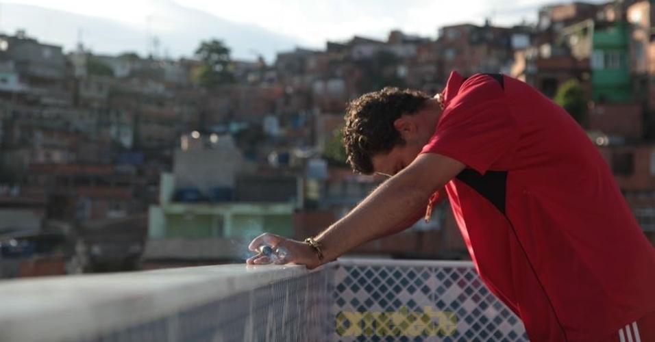 Cauã Reymond em cena do filme