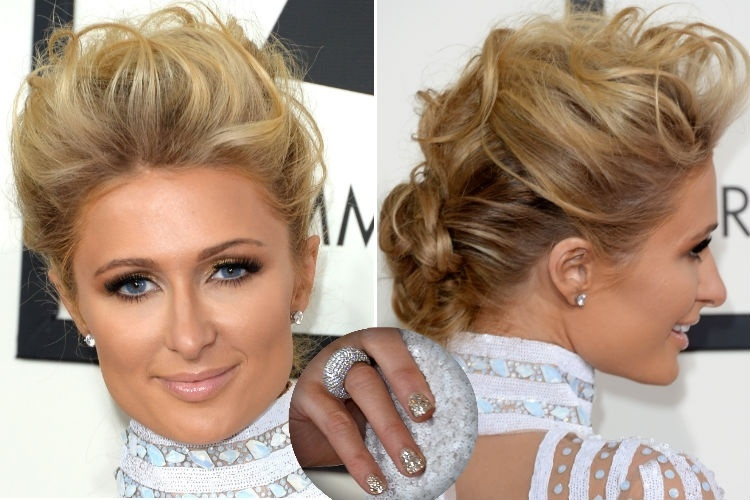 26.jan.2014 - Looks inspiradores - Paris Hilton