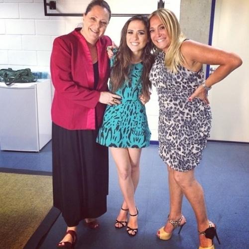 """Susana Vieira posa ao lado de Tatá Werneck e Elizabeth Savalla e diz que são """"mulheres super poderosas"""""""