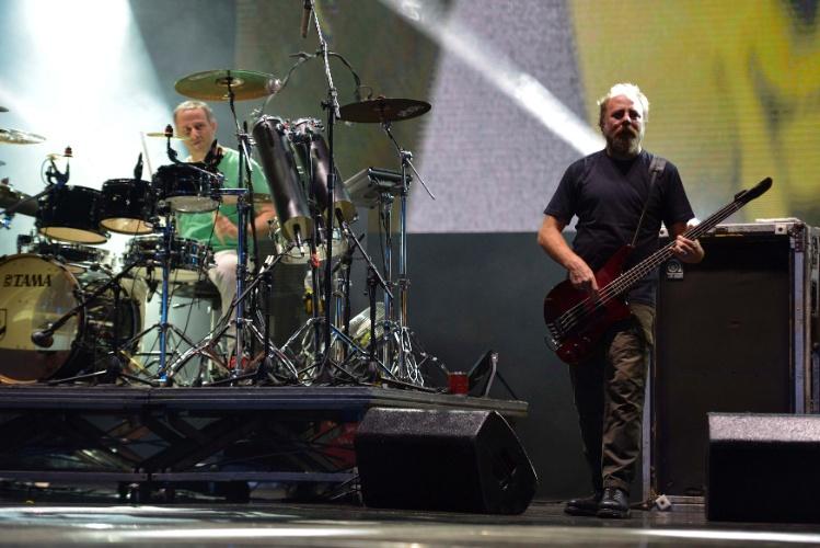 30.jan.2013 - Banda Paralamas do Sucesso abre o segundo dia de shows no Palco 2014 do Festival de Verão de Salvador, que acontece na capital baiana
