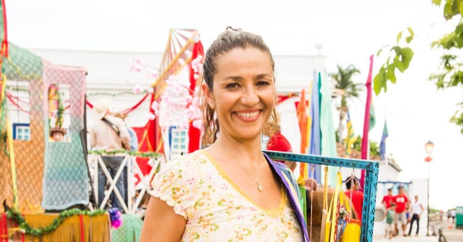 """Cyria Coentro interpreta Maria em """"Em Família"""""""