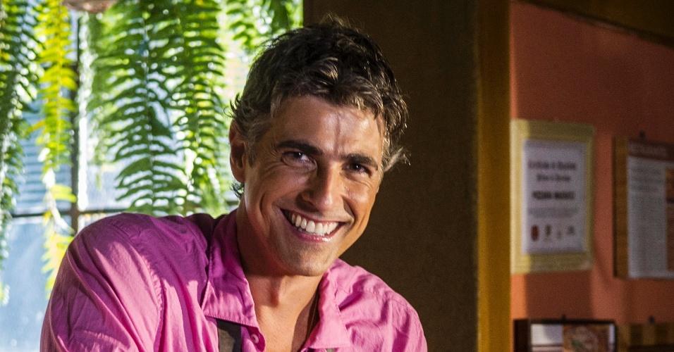 """Reynaldo Gianecchini interpreta Cadu em """"Em Família"""""""