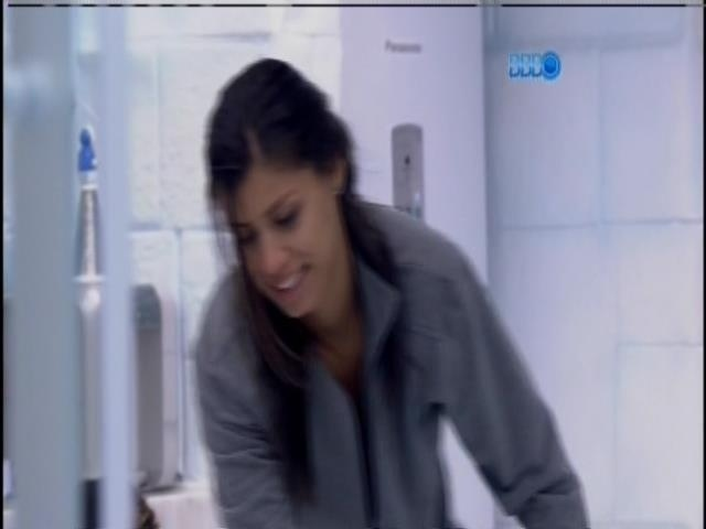 31.jan.2014. Franciele fala sobre Anamara com Diego