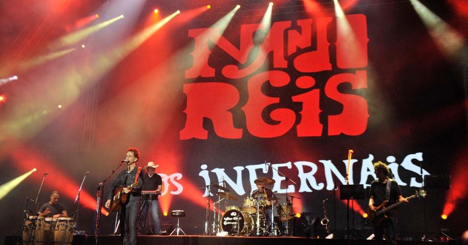 1.fev.2014 - Nando Reis no Festival de Verão de Salvador