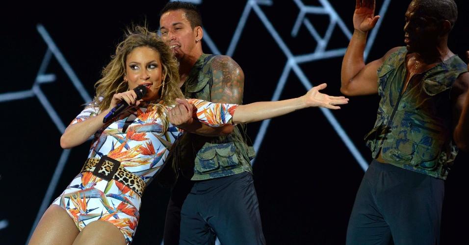 31.jan.2014 - Claudia Leitte se apresenta da terceira noite do Festival de Verão de Salvador