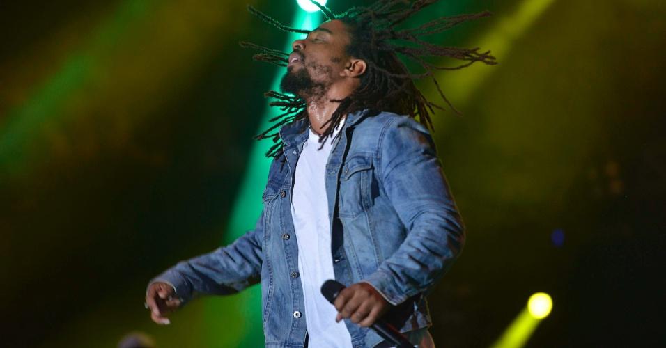31.jan.2014 - The Wailers, ex-banda de Bob Marley, se apresenta no Festival de Verão