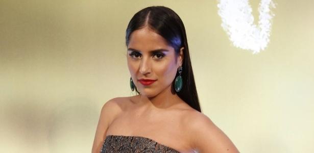A atriz Camila Camargo, filha do sertanejo Zezé di Camargo