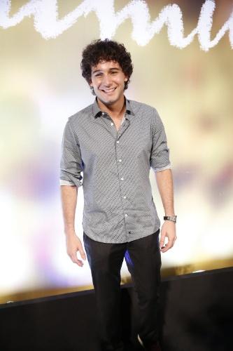 """2.fev.2014 - Rafael Almeida na festa da novela """"Em Família"""""""