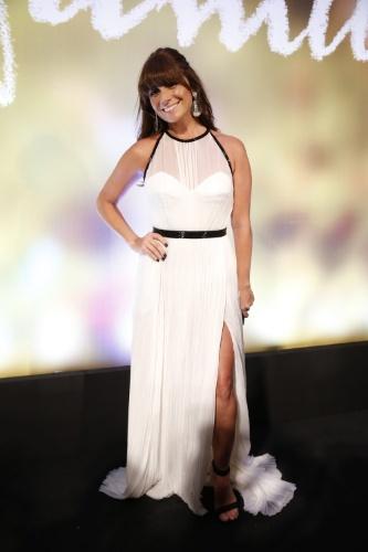 "2.fev.2014 -  Giovanna Antonelli na festa da novela ""Em Família"""