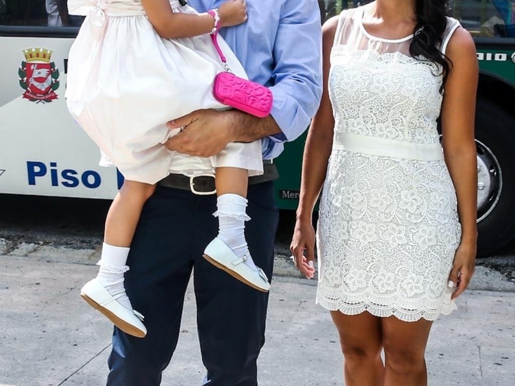 5.fev.2014 - Edu Guedes comemoa o aniversário da filha, Maria Eduarda, em São Paulo