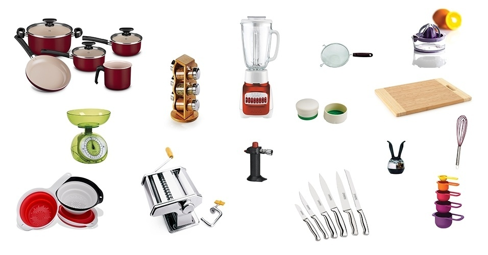 Lista de utensilios de cozinha completa cozinha great for Lista utensilios para bano