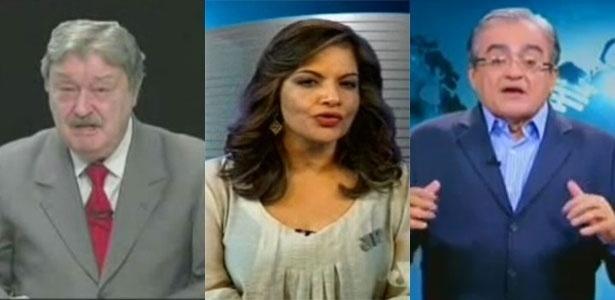 Carlos Chagas, Denise Campos de Toledo e José Nêumanne Pinto, demitidos do SBT