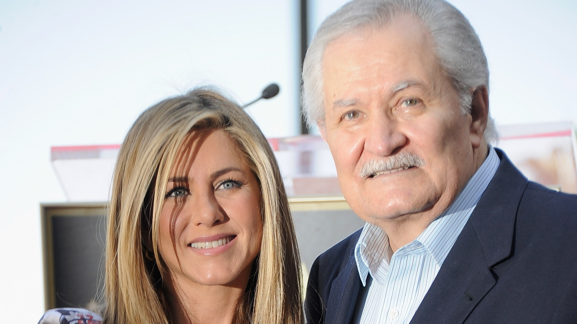 Jennifer Aniston e o pai, John Aniston