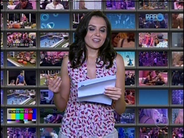 11.fev.2014 - Monica Iozzi participa toda semana do BBB14