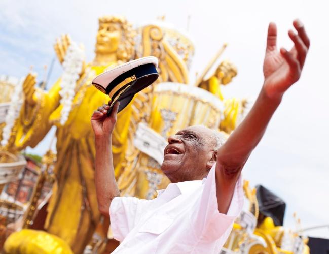8.fev.2013 - Carlão, o general da Banda Redonda, a mais antiga da cidade de São Paulo